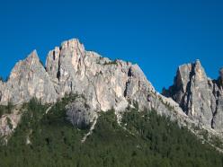 Tracciato di Gallo George, Muraglia del Giau, Lastoni di Formin, Dolomiti