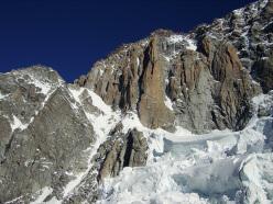 Pilastro Rosso del Brouillard (Monte Bianco)