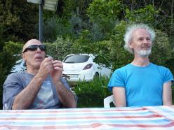 Giuliano Stenghel e Heinz Grill
