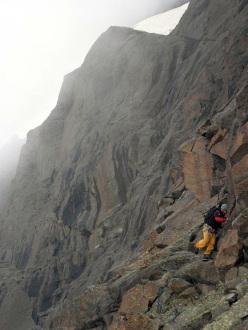 esplorazione sul serpentino della Rossa - Crampiolo, Alpe Devero