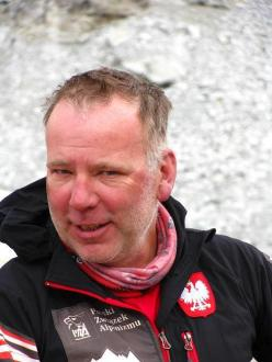 Polish mountaineer Artur Hajzer