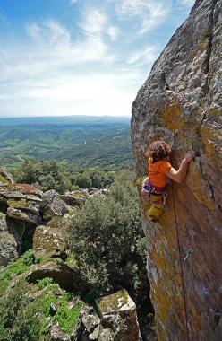 Cecilia Marchi sale la nuova Gacias a la vida a Monte Arci