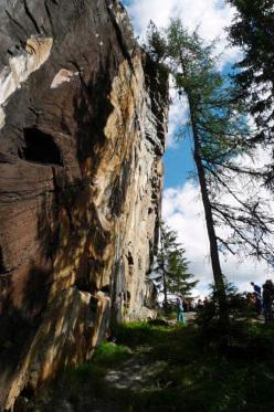 La Terrazza, Valmalenco: Adam Ondra climbing Tempest 8a+-