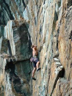 Zoia Nuova, Valmalenco: Nicola Bruseghini su Super-gajardi 8a