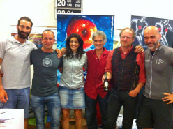 Adventure Movie Award Days 2013: Alex Bellini, Danilo Callegari, Eleonora Bujatti, Manolo, Michael Wachtler e Andrea Benesso