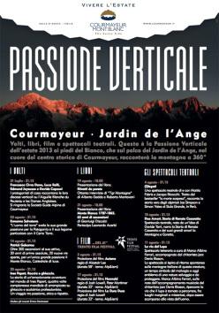 La rassegna di Courmayeur dedicata a montagna, climbing, alpinismo e sfide ad alta quota proporrà al pubblico del' Jardin de l'Ange quattro sezioni: Volti, Libri, Film e Spettacoli Teatrali.