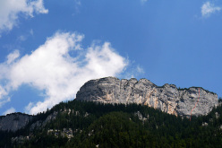 Sonnwand, Loferer Alm, Austria and the route line of Sodom und Gomorah.