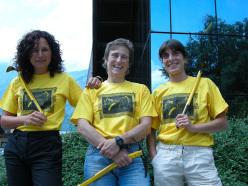 Eloise Barbieri, Roberta Vittorangeli and Anna Torretta