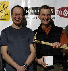 Marko Prezelj e Boris Lorencic (Slo) Piolet d'or 2006 per la nuova via sul pilastro nord ovest del Chomo Lhari (7326 mt - Tibet).
