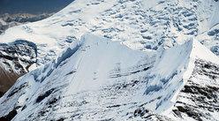 la cresta tra Peak Hawley e l' Aiguille Josephine