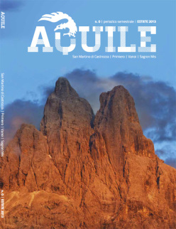 Aquile, la nuova rivista delle Guide Alpine Aquile di San Martino di Castrozza