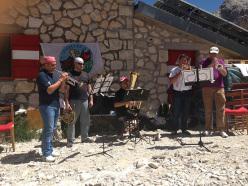 Domenica 28 luglio 2013 al Rifugio Franchetti il 4° concerto in quota: il quintetto