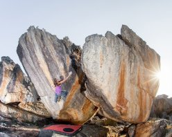 Anna Stöhr on The Power of One, Rocklands, South Africa