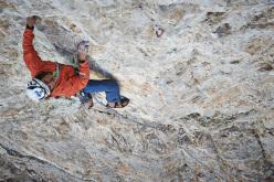 Das Orakel, Lagazuoi parete nord (IX, 320m), Simon Gietl & Patrick Seiwald 2013