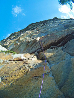 New rock climb in Valle dell' Orco