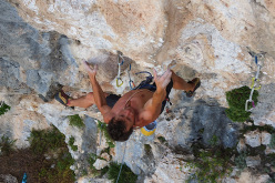 Luca Giupponi libera SS125, 8b+