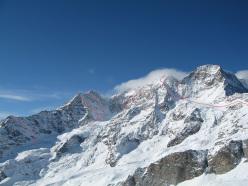 Le grandi discese del versante NE del Monte Rosa