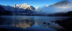 Mangart dal lago di Fusine