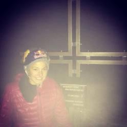 Sasha DiGiulian on Bellavista, Cima Ovest, Tre Cime di Lavaredo, Dolomites