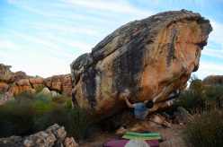 Derailed 8B Rocklands, South Africa.