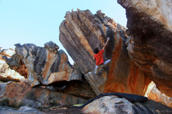 The power of one 8B Rocklands, Sudafrica.