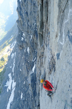 Dave MacLeod on Paciencia, Eiger North Face