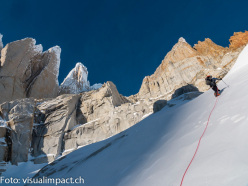 Cerro Torre climbed in winter by Siegrist, Arnold, Huber and Villavicencio