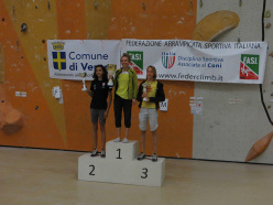 Coppa Italia Speed e Lead 2013: podio femminile Lead