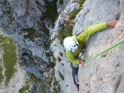 Stefano Codazzi on the final moves on pitch 6