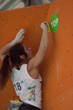 Rock Master 2013 - Sint Roc Boulder Contest women, Alex Puccio