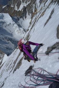 Daniela Teixeira on summit day