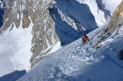 Daniela Teixeira on the summit day.