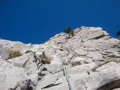 Sul 13° tiro di Le Lisce d'Arpe, Monte Alpi