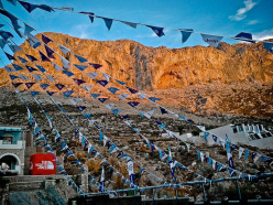 Everything is ready for the The North Face Kalymnos Climbing Festival
