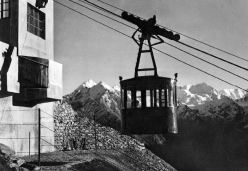 The Colonna (Cogne) cable car