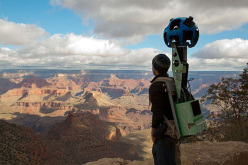 Google Trekker at the Grand Canyon, USA