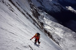 Ueli Steck summits Annapurna, alone up South Face