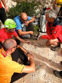 Durante il San Vito Climbing Festival – Bolting Edition
