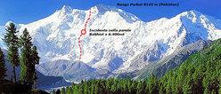Il versante Rahiot sul Nanga Parbat (8125m)