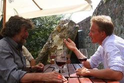 Reinhold Messner e Ivo Rabanser