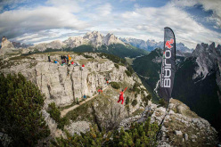 Monte Piana Highline Meeting 2013, Dolomites