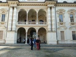 Il loggiato del Castello del Valentino di Torino