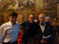 Andrea Giorda, Nicola Tondini e Spiro dalla Porta Xidias