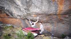 Bouldering in the Grampians