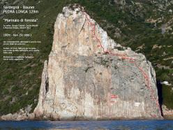Marinaio di foresta (190m, 6a+ max, 5c obl.)