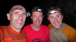Rolando Larcher, Luca Giupponi and Nicola Sartori