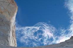 La parete SE della Torre Sud, Torri del Paine, Patagonia