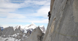 Mike Turner saledno Wall of Paine, Torre Sud, Torri del Paine