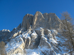 A photo taken in 2006 of Cima Su Alto, Monte Civetta