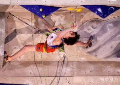 Adam Ondra, second at Kranj